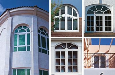 Rundbogen- / Stilbogenfenster